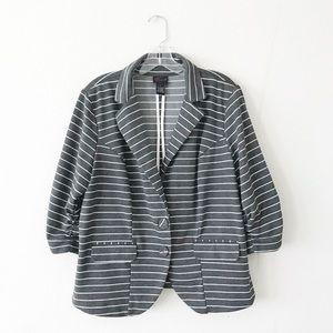 TORRID • striped blazer